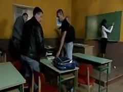 Hot European MILF Teacher