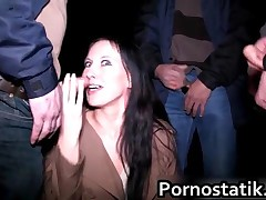 Slutty English Cougar On A Dogging Mission To Suck Of Some Random Big Cock By Pornostatik