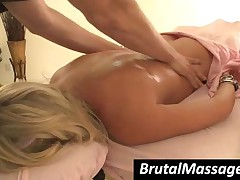 Shawna Lenee - Enchanting Cutie Gets Massaged With Warm Oil