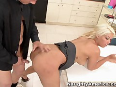 Bridgette B And Chris Johnson - Naughty Office