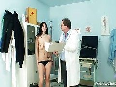 Adriana - Adriana Visiting Gyno Doctor For Real Pussy Gyno Exam