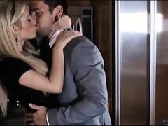Tasha Reign - Sexy Blond Milf Babe Rides Cock After Sucking On It