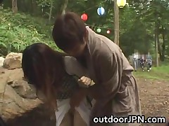 Amateur Pretty Asian Babe Fucked In The Park By Her Boyfriend 2 By Outdoorjpn