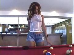 Ebony hooker ass fucked and facialized
