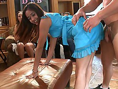 Naughty Girls Partying