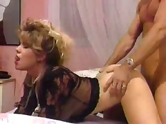 Lingerie Whore Pleasured By A Huge Cock