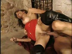 Insatiable Gabrielle gets her holes slammed