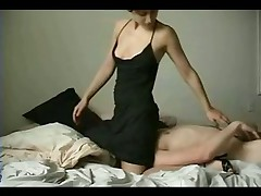 Amateur couple fuck together on webcam