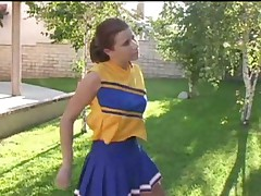 Sarah Blake cheerleader audition