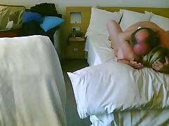 Mature couple hotel sex