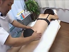 Stunning Asian Angel Gets More Than A Massage