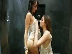 Nadia Aria Shay Laren Lesbian Scene