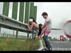 Public - public sex on a highway