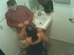 Hidden Camera In Fast Food Resturant Washroom