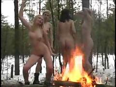 Winter Nudists