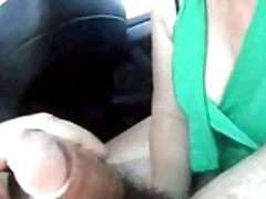 Wife Sucks In Car
