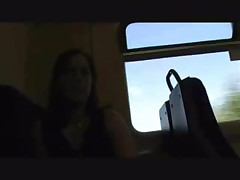 Exhib in train