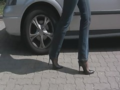 FF nylons in jeans