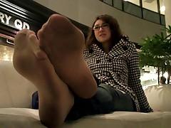 Dirty Pantyhose Feet