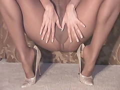 Pantyhose coupled with personify