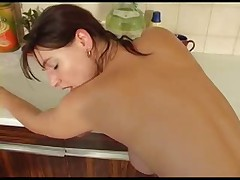 Nice fuck in the kitchen