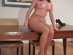 Tease You And Get Off Pantyhose Jerk Off Encouragement