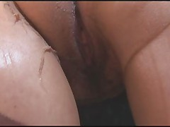 Busty Mature Fully Fashioned Nylon Stockings over Pantyhose