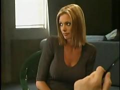 Foot worship porn