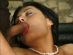 Double penetration tube