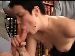 Salope moche anal